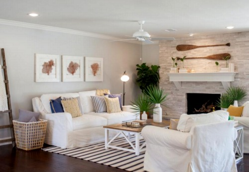 Coastal Home Makeover For A Ranch House By Chip And Joanna Gaines