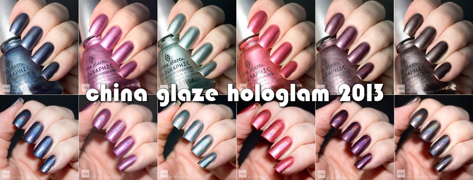 China Glaze Hologlam 2013