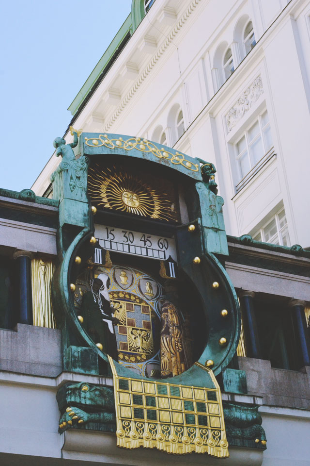 Ankler Musical Clock Vienna