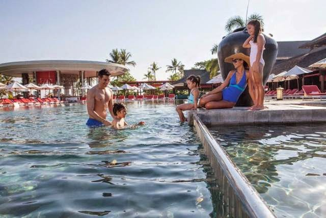 Relax and be pampered, with family and friends at Club Med Bali