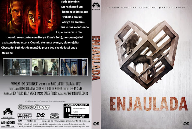 Capa DVD Enjaulada 2016 [Exclusiva]