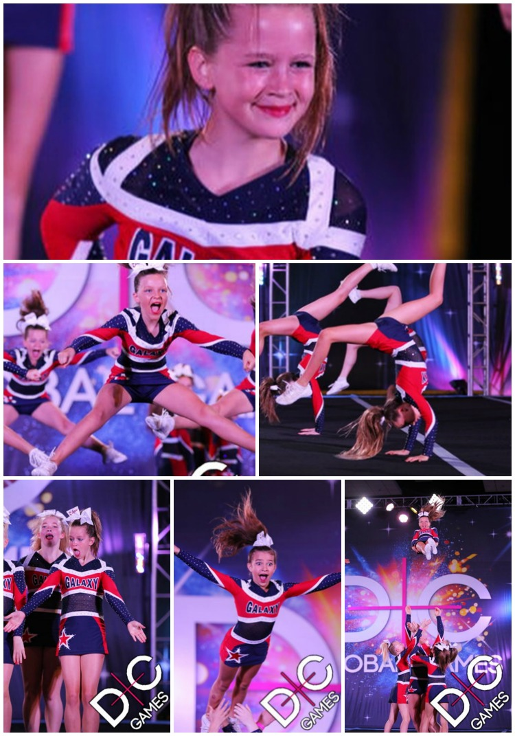 All Star Galaxy Eclipse competing at Global Dance and Cheer Games