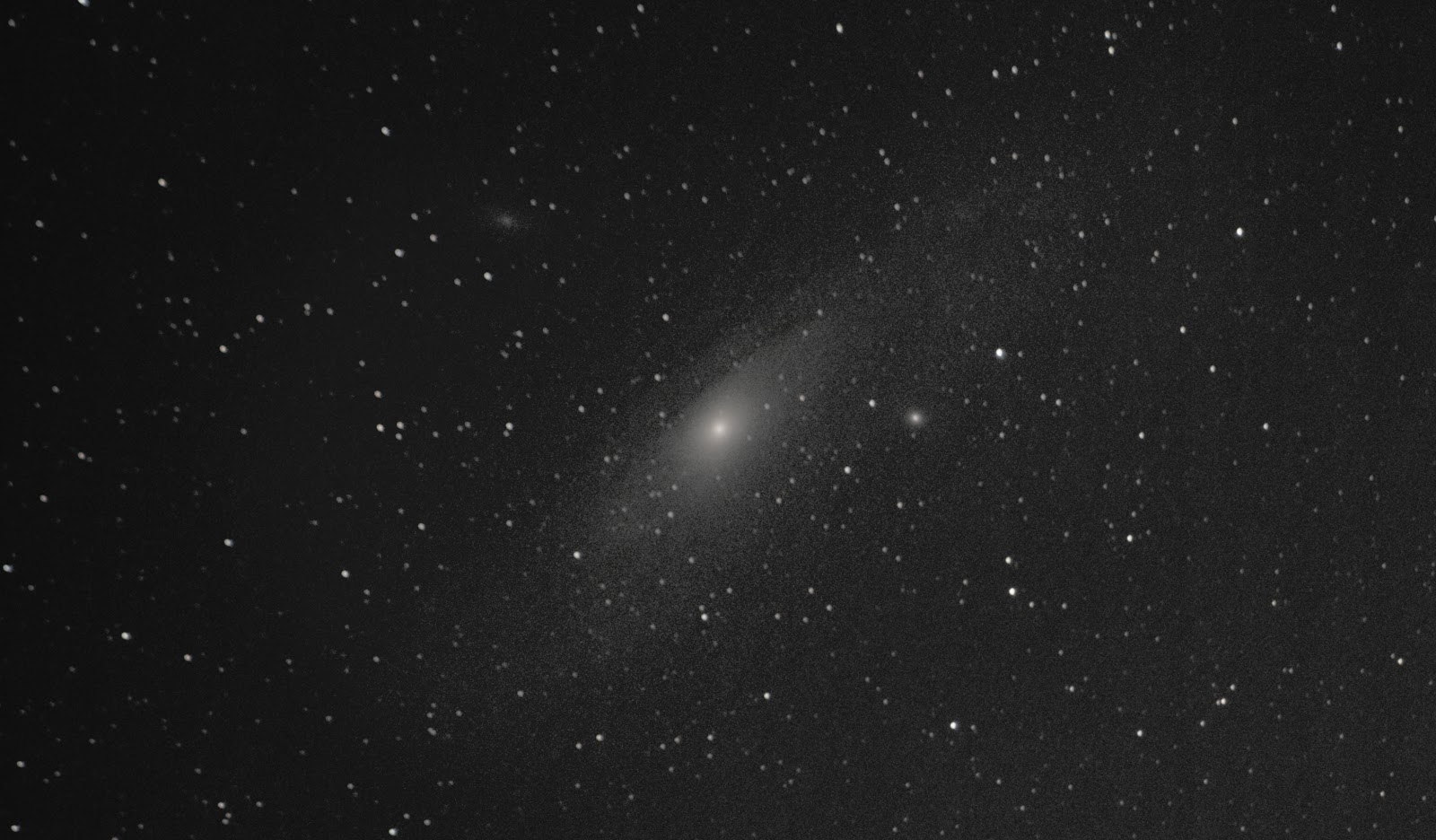 andromeda m31 with canon T5i on EQ-1 mount