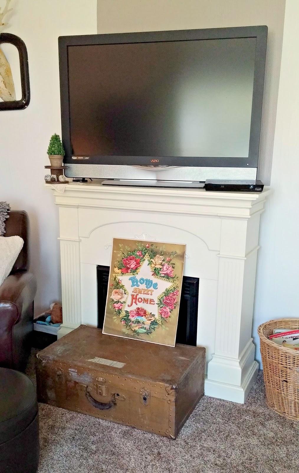 Eclectic Living Room Refresh Little Vintage Cottage