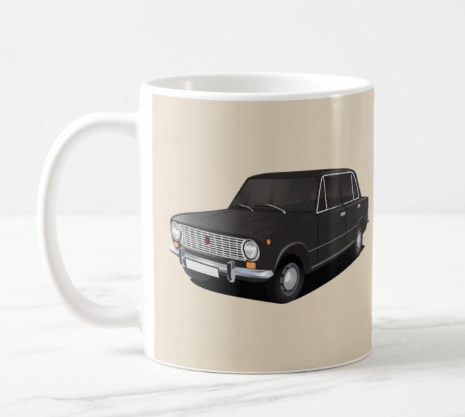 vaz-2101 Lada 1200 coffee mug
