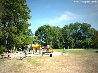 Spielplatz am Schaalsee in Zarrentin