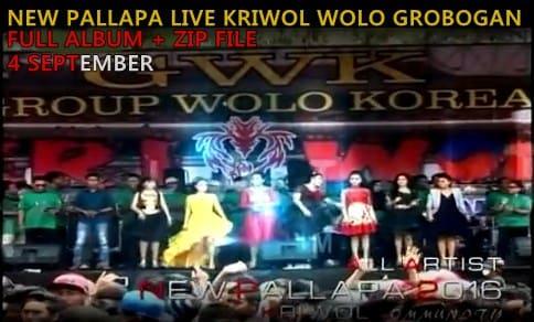 Download New Pallapa Live Kriwol Wolo grobogan 2016 Full album