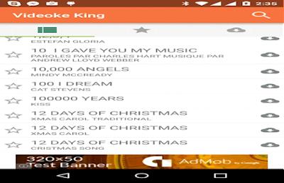 Aplikasi Nyanyi dan Video King