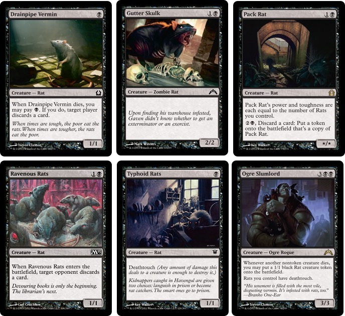 Mtg Kitchen Table Cards