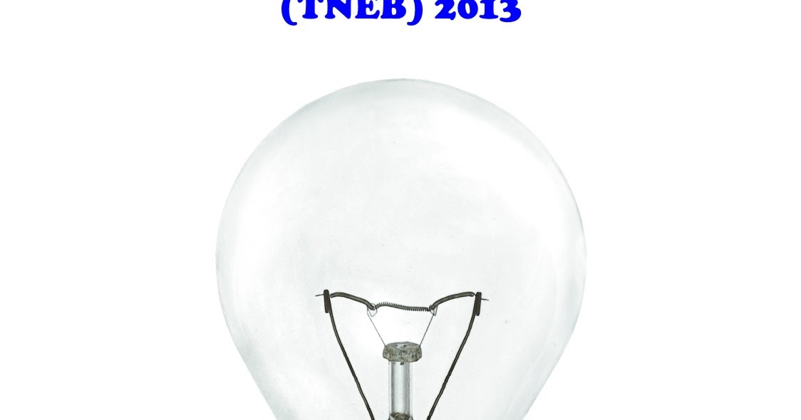 Electricity Usage Tariffs in Tamil Nadu (TNEB) 2013 | Namma Area