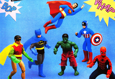 MEGO super-heroes Marvel DC catalogue