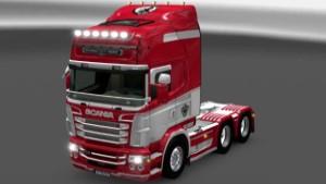 Scania RJL AFC Ajax skin