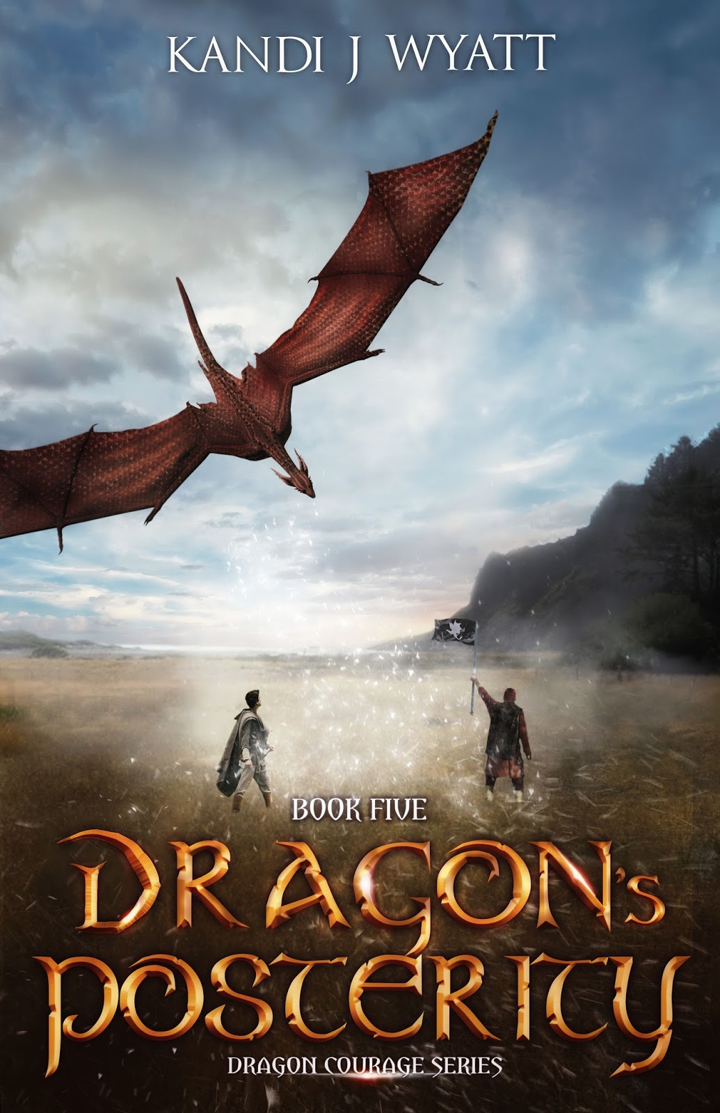 Novels by G. Donald Cribbs: Cover Reveal: Dragon's ...