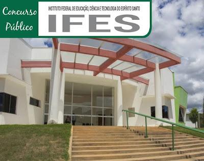 Concurso do IFES abre inscrições para Técnicos Administrativos