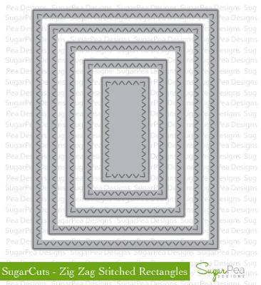 zig zag rectangles