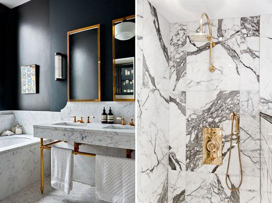 Blog de mbar muebles decorar con m rmol el b sico - Limpiar laton dorado ...