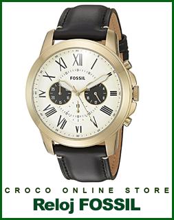 Reloj Fossil Chrono  Para Hombres