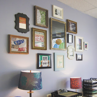 Classroom pictures - Frame wall and ideas for back to school door and bulletin boards