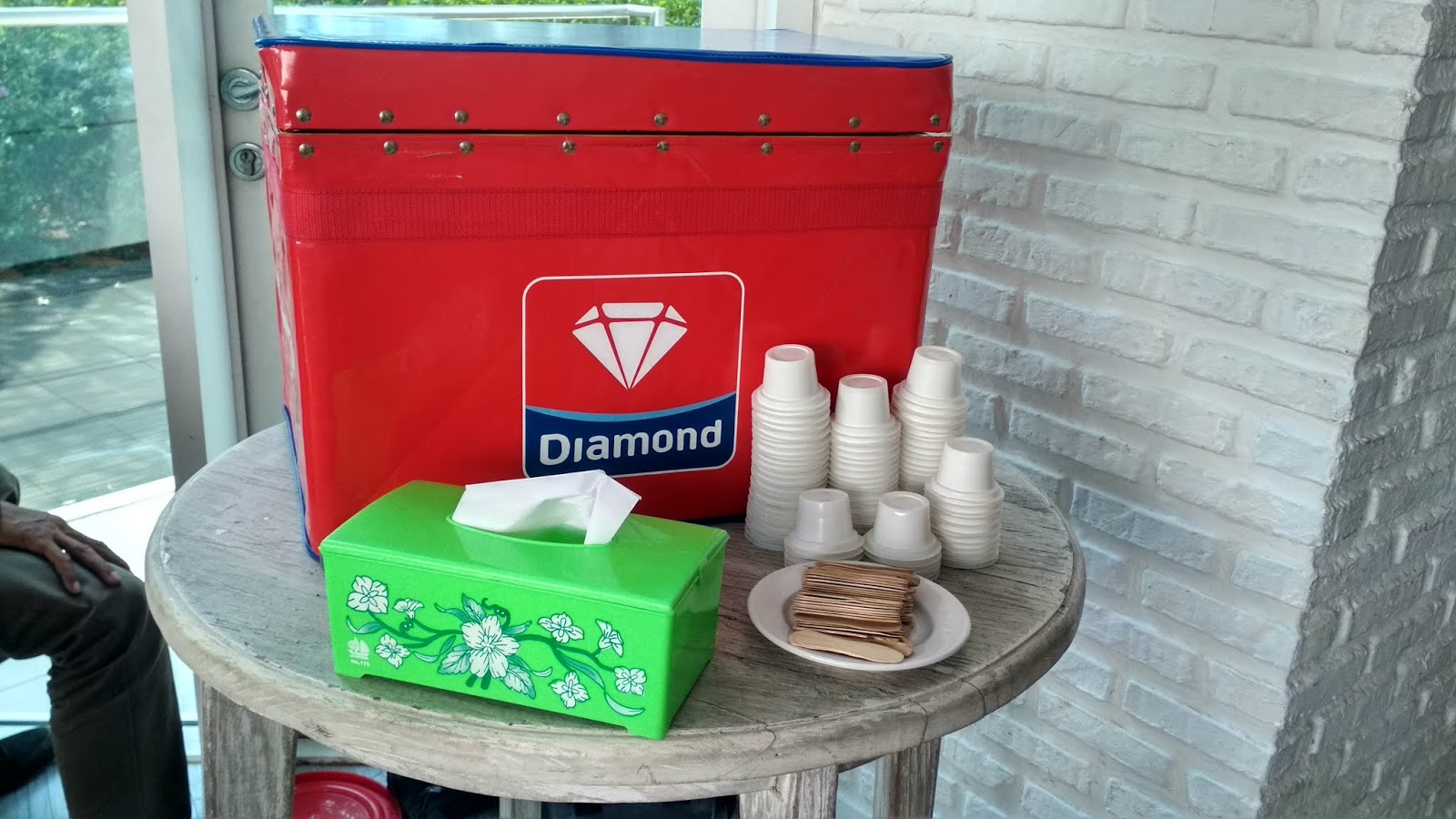 es krim diamond paket full service pernikahan