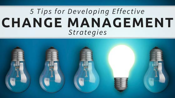 Effective Change Management Strategies