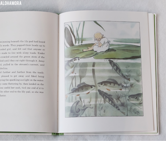 Thumbelina by Hans Christian Andersen and illustrated by Elsa Beskow gets 4 out of 5 stars in my book review of this classic fairytale.  Beautiful pictures from this Swedish illustrator. Alohamora Open a Book www.alohamoraopenabook.blogspot.com picture book, 4th-7th grade