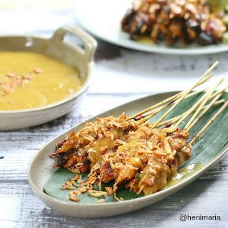 Ide Resep Masak Sate Padang Ayam