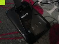 Touch: CRECO 7W LED Tischlampe 5 Helligkeitsstufen 3 Modi dimmbar 270° drehbar Schreibtischlampe Schwarz [Energieklasse A+]