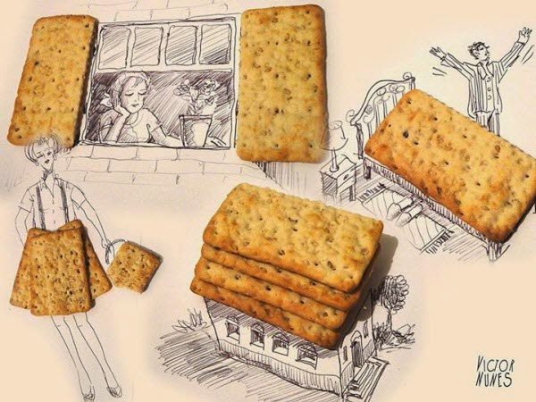 12 Amazing Creative Arts Made with Objects & Foods