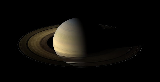 Saturn as seen by the Cassini spacecraft. Credit: NASA