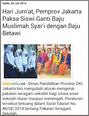 16 Kebijakan Ahok Yang Kontroversial dan Melecehkan Agama Islam -Sagoe Tunong