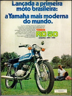 propaganda moto Honda 50- 1975, Honda 50 74, moto Honda anos 70, Honda década de 70, moto antiga, Oswaldo Hernandez,