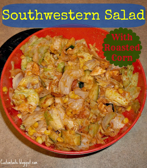Meal Idea Mondays: Southwestern Salad by Custom Taste