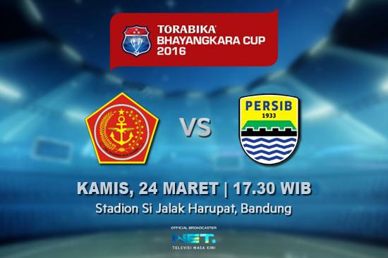 PS TNI vs Persib Piala Bhayangkara 2016