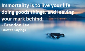 quotes on immortality