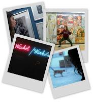 Polaroids pris à la galerie nationale (Narodni galerie v Prague) de Prague en République Tchèque