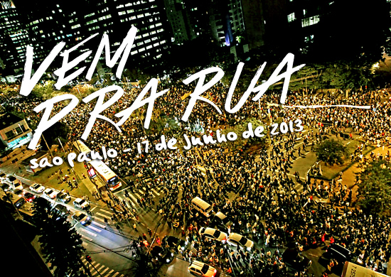 Resultado de imagem para manifestação em 2013