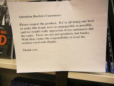 Photo Friday - Borders - February 25, 2011