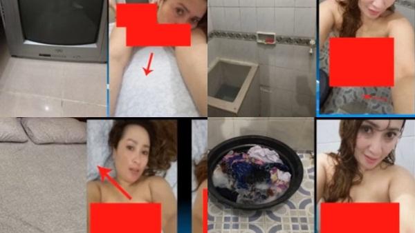 mencocokkan foto yang tanpa busana Firza dengan foto Firza ketika di tahanan