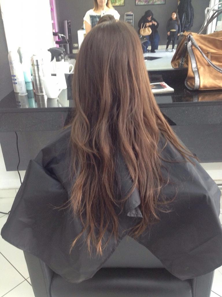 Neue Frisur Balayage Ombre Highlights