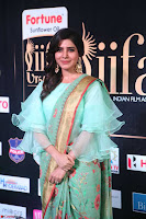 Samantha Ruth Prabhu Smiling Beauty in strange Designer Saree at IIFA Utsavam Awards 2017  Day 2  Exclusive 43.JPG