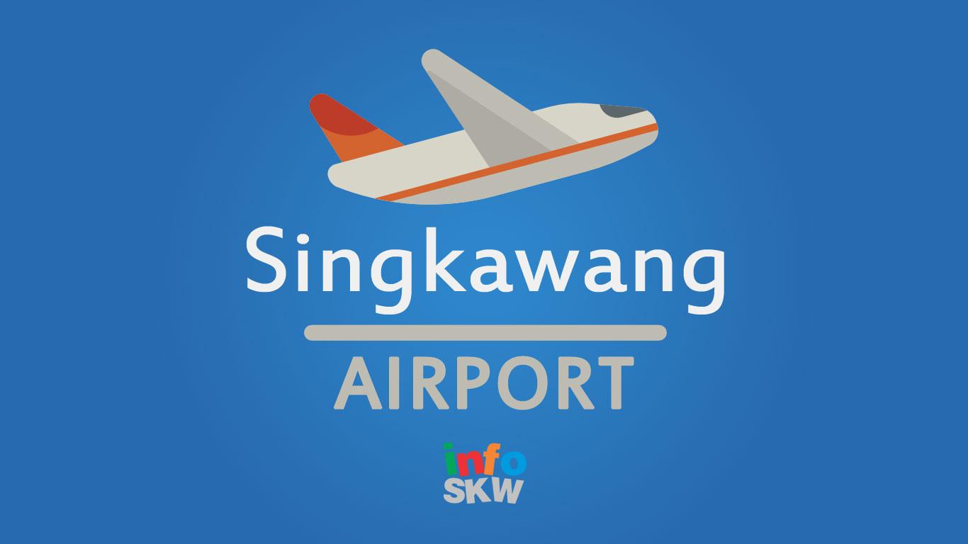 bandara kota singkawang airport
