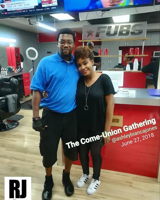 Ashley Bianca Jones - Richard John - The Come-Union Gathering - RJO Ventures - Miami