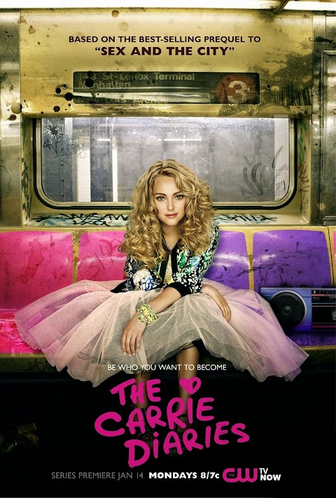 Lazy Sunday TV time// The Carrie Diaries