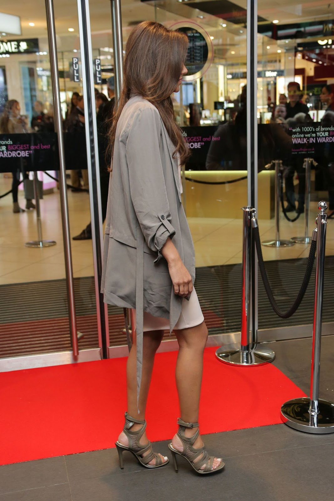 Michelle Keegan At Lipsy Launch On Oxford Street In London HD Photos