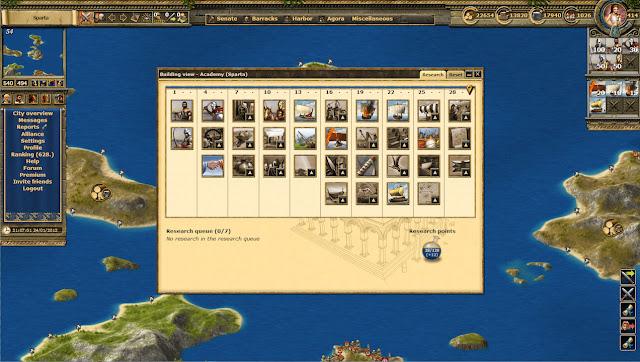 Grepolis Oyun İşleyişi
