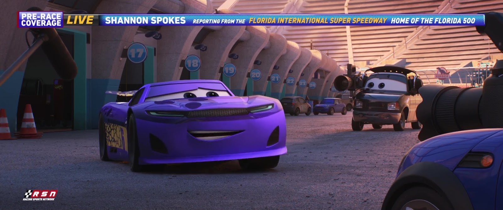 Cars 3: Bubba Wheelhouse (Transberry Juice)