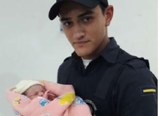 Guarda Civil de Indaiatuba encontra recém-nascida no lixo