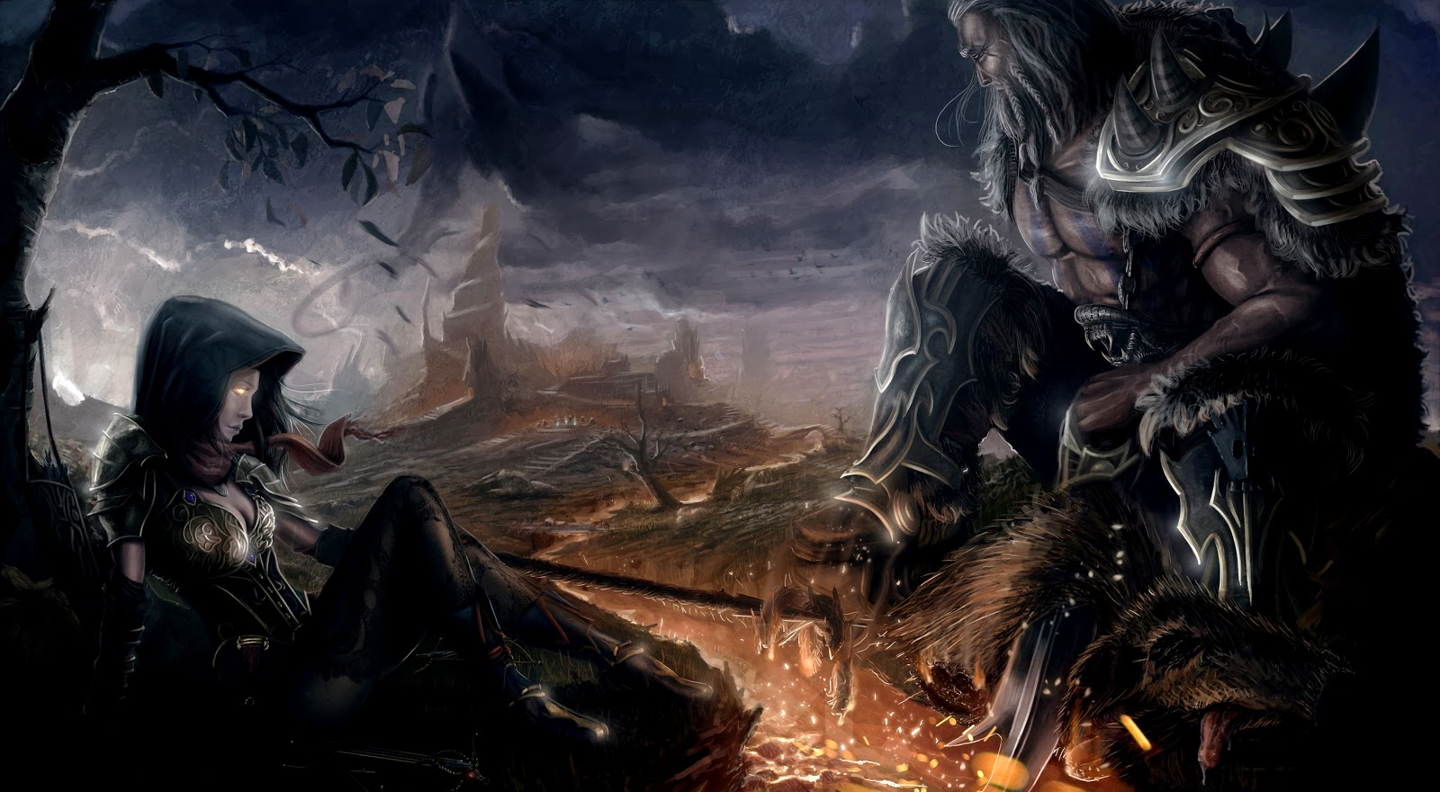 Diablo 3 The Demon Hunter Hd Wallpaper Ourlovemysoulmate