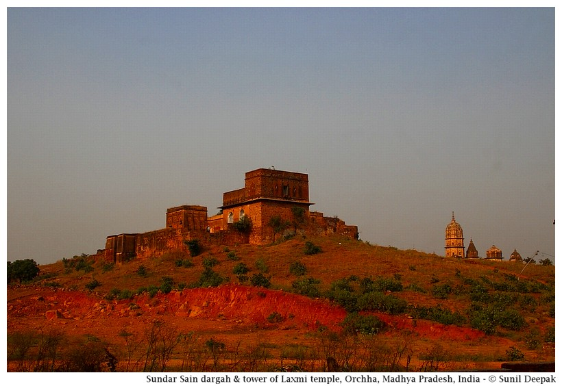 Palace of sundar Shah, Orchha, Madhya Pradesh, India - Images by Sunil Deepak