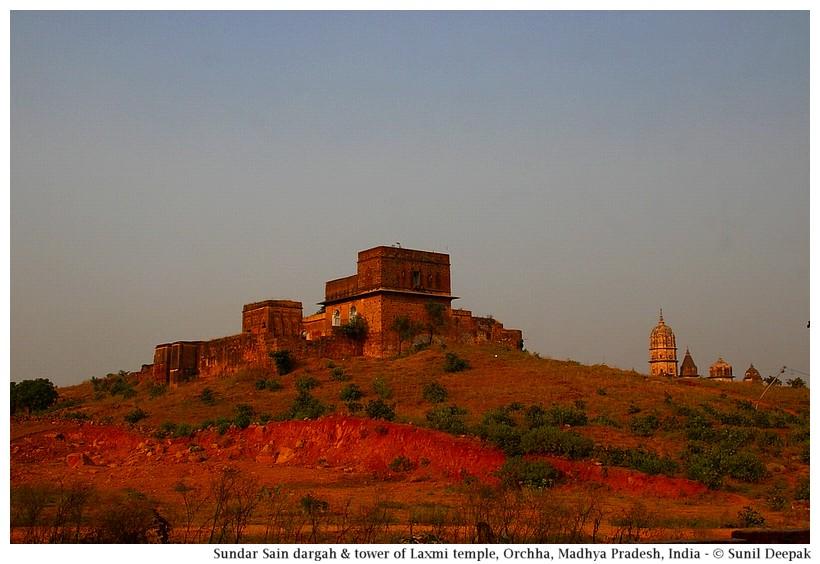 Palace of sundar Shah, Orchha, Madhya Pradesh, India - Images by Sunil Deepak